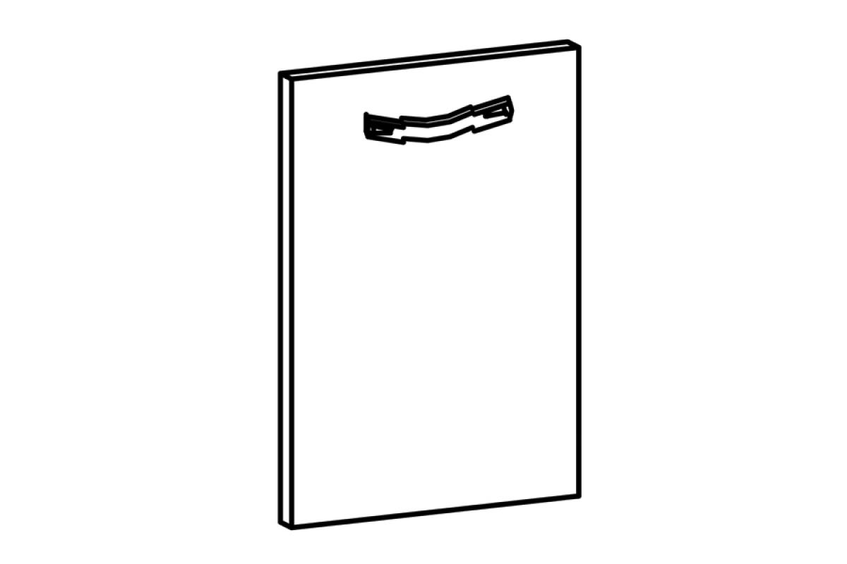 Nabytok-Bogart Sycylia mdf - predná časť do umývačky 59,6 - panel ukryty