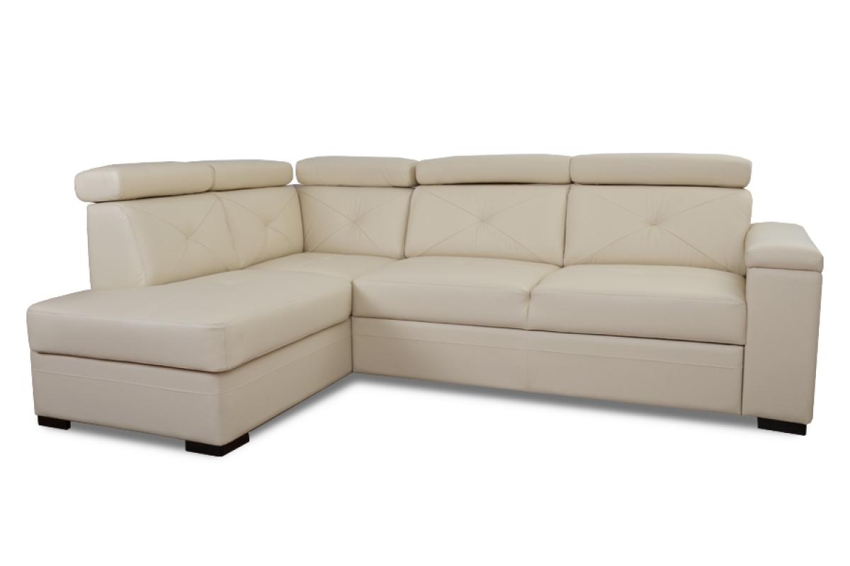 Nabytok-Bogart Rohová sedacia súprava modern - koža