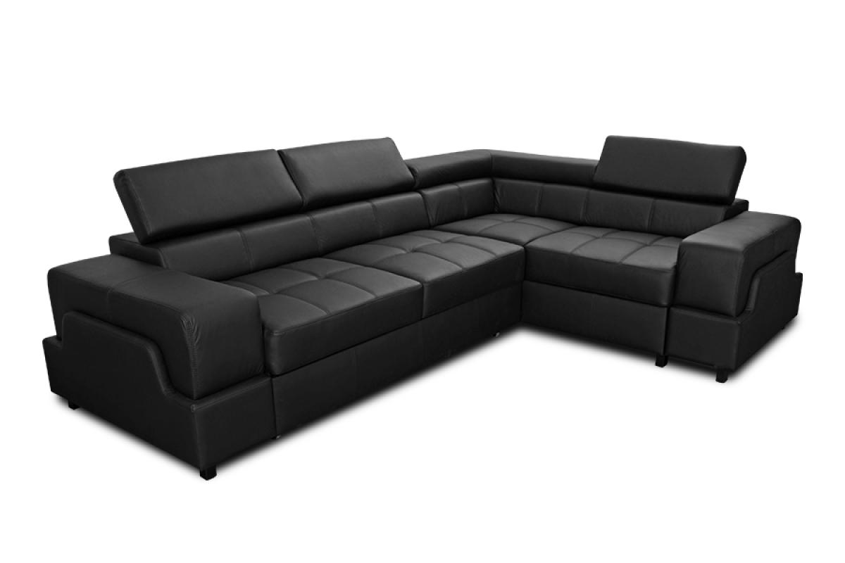 Nabytok-Bogart Rohová sedacia súprava nova - koža