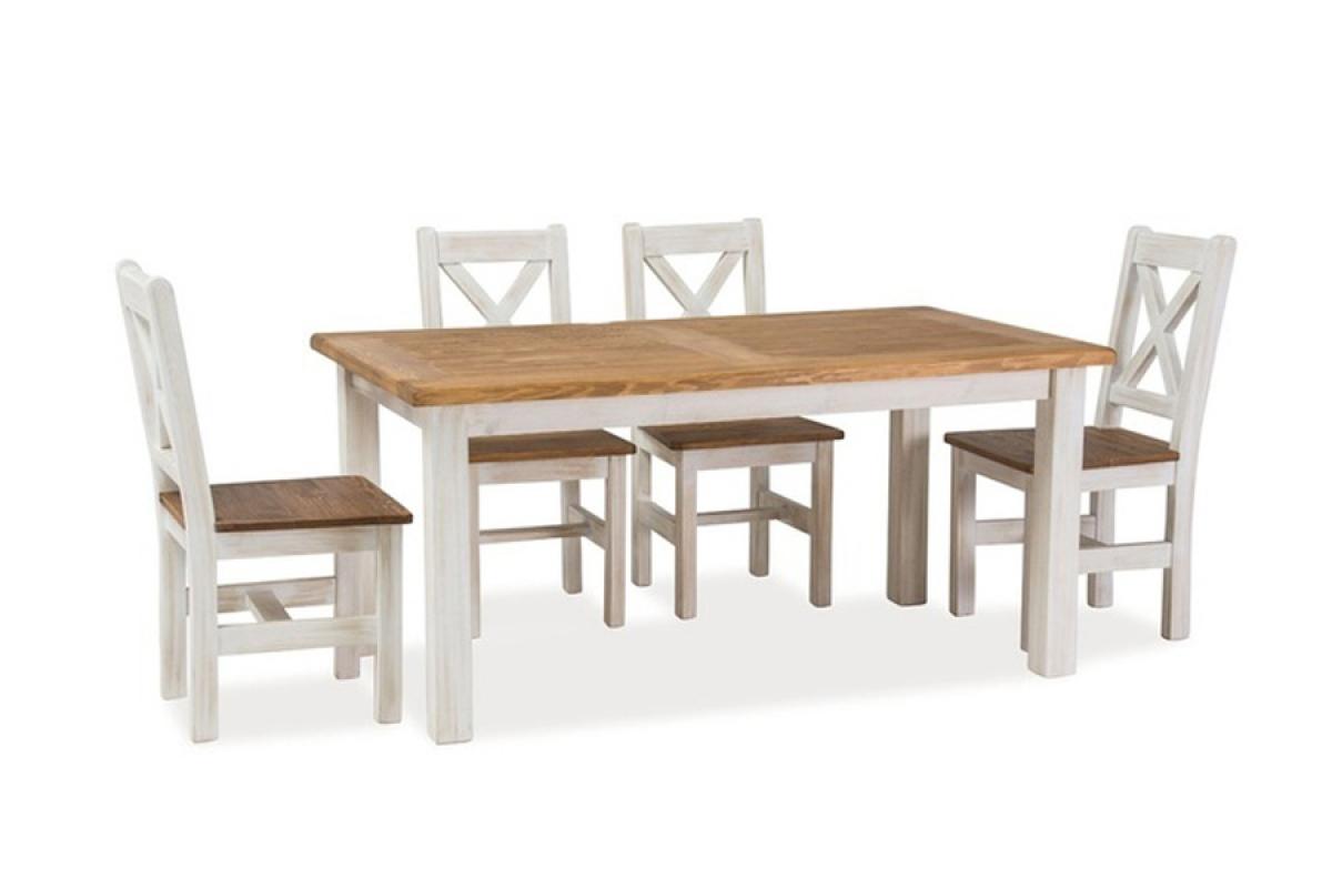 Nabytok-Bogart Komplet poprad - stôl a stoličky
