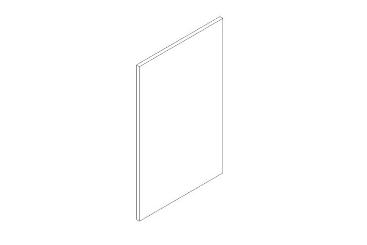 Nabytok-Bogart Lungo & macchiato 45 pu - predná časť do umývačky - panel ukryty , biela