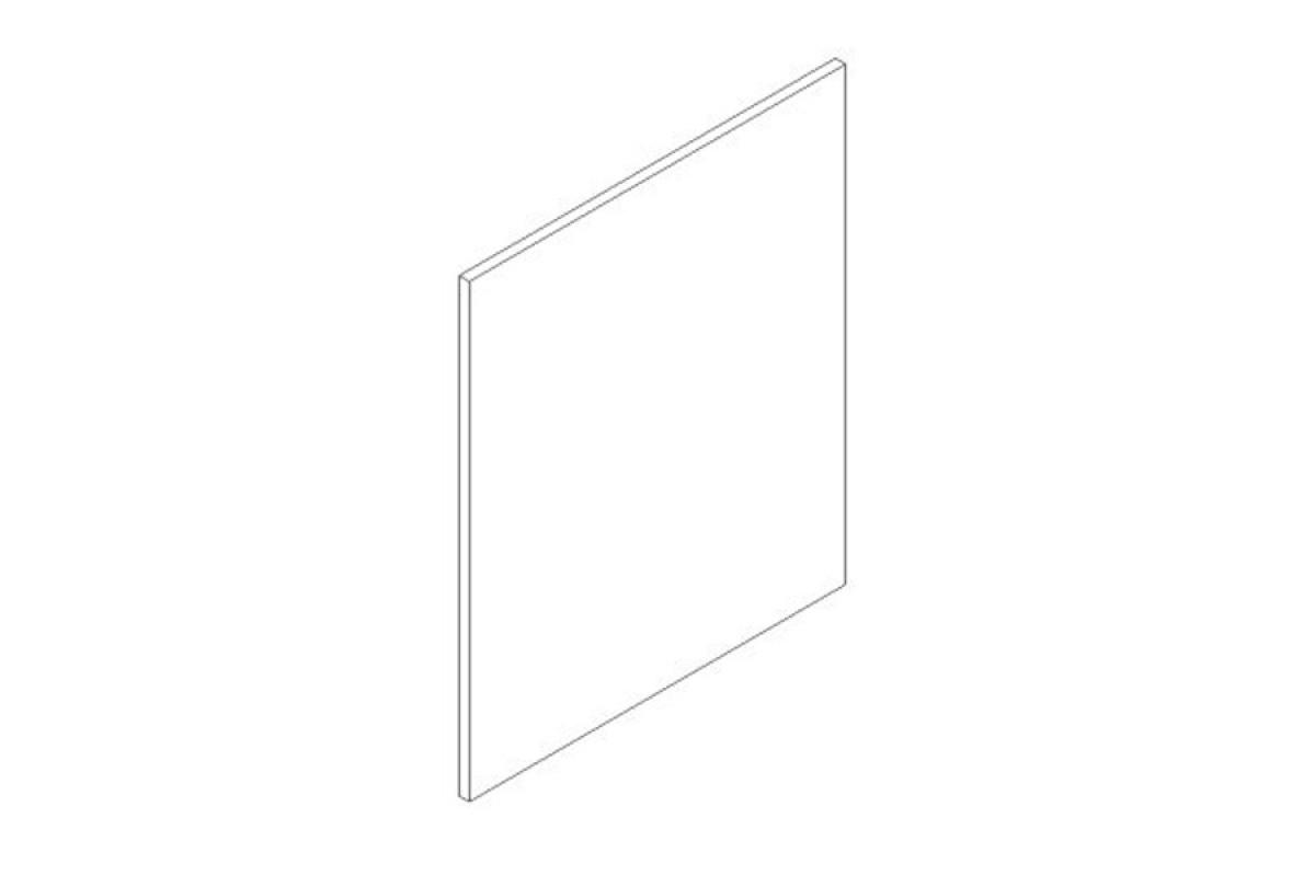 Nabytok-Bogart Lungo & macchiato 60 pu - predná časť do umývačky - panel ukryty, biela