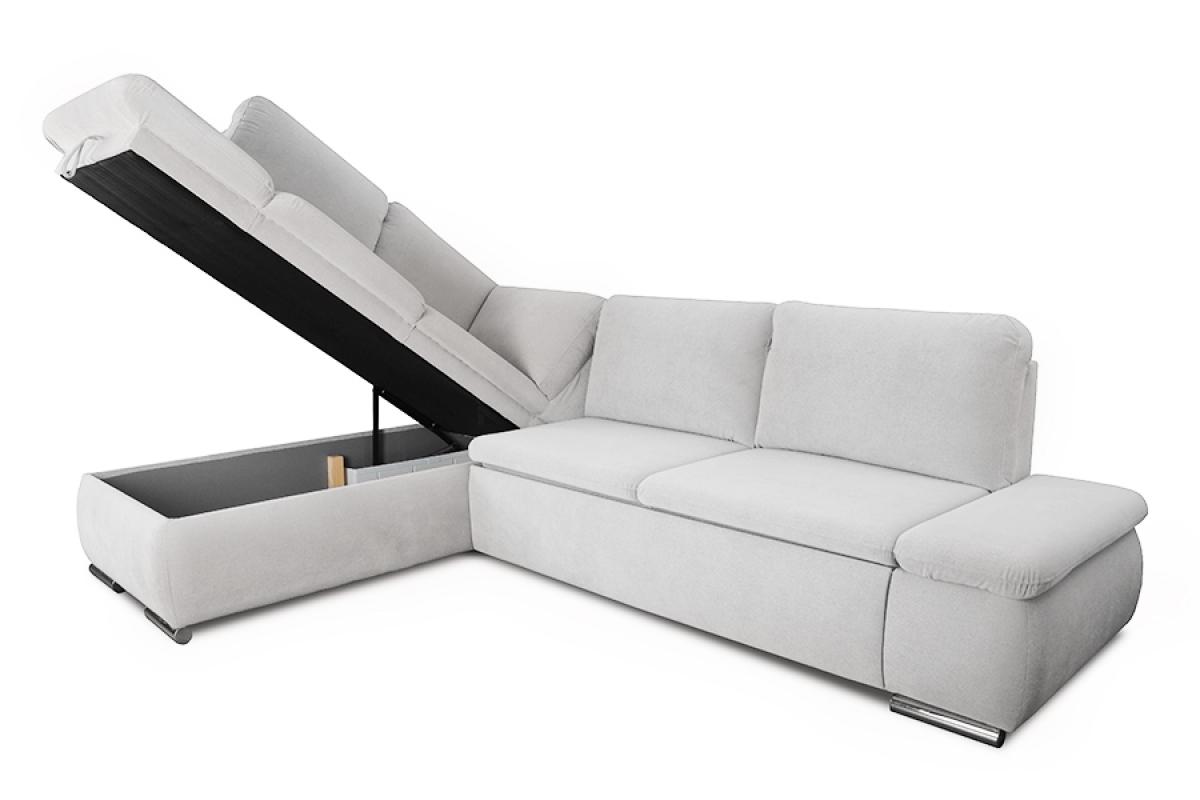 Nabytok-Bogart Rohová sedacia súprava form - ľahkočistiaci materiál - výpredaj