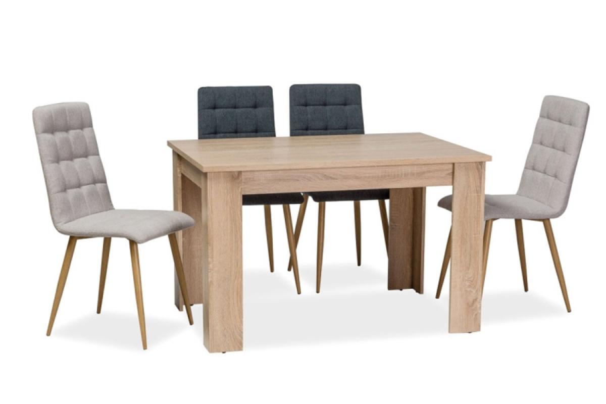 Nabytok-Bogart Stôl avis 120 x 80 dub sonoma