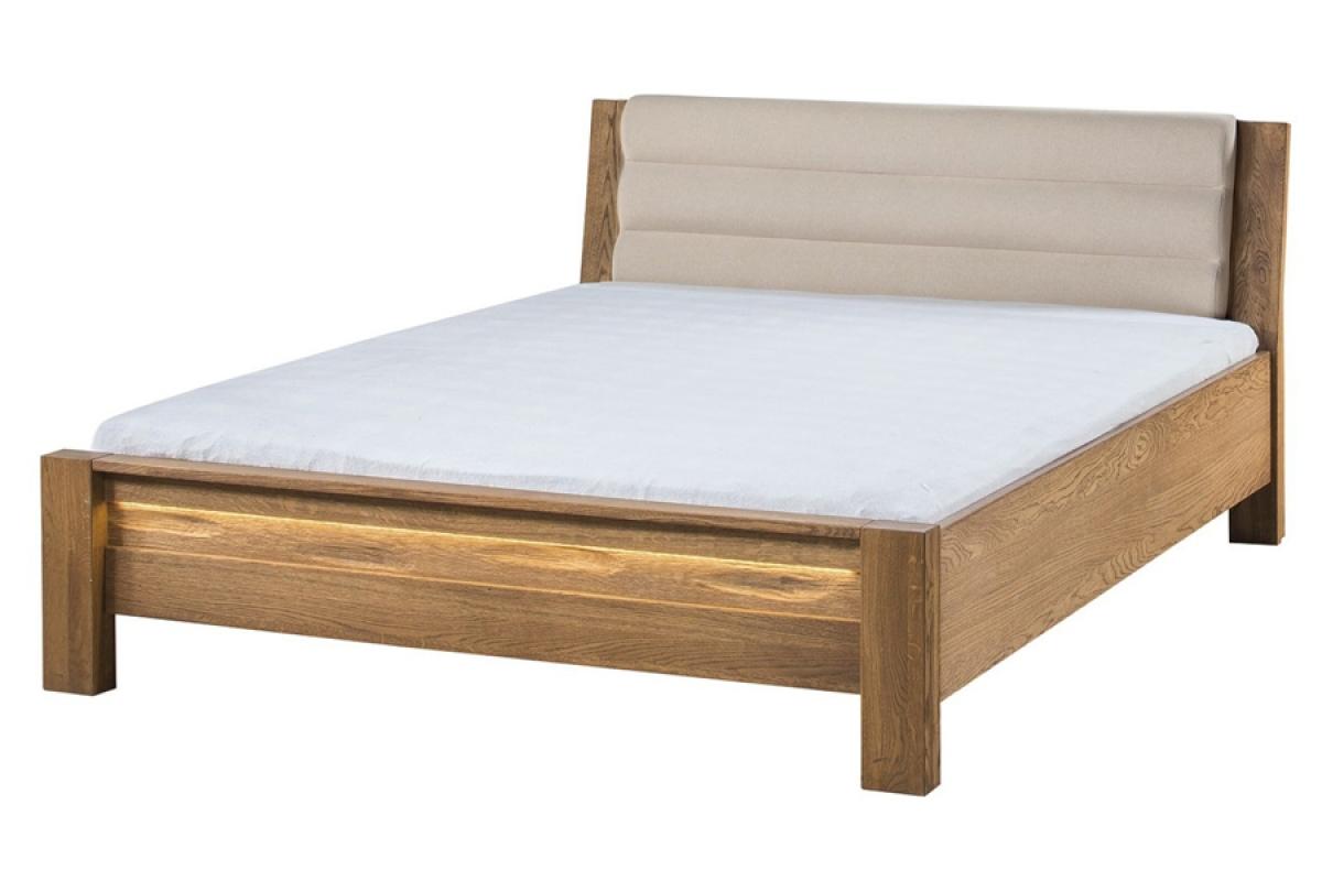 Nabytok-Bogart Velvet 76 - béžová posteľ do spálne