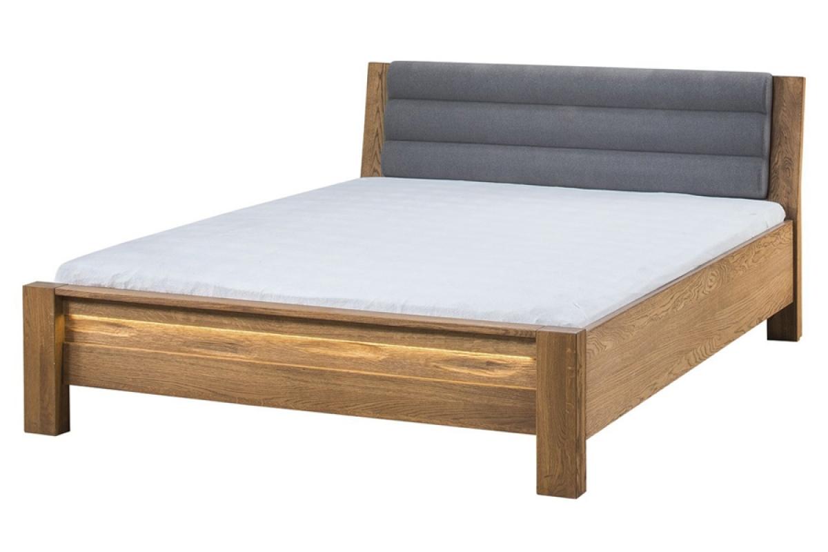 Nabytok-Bogart Velvet 76 - posteľ do spálne šedá