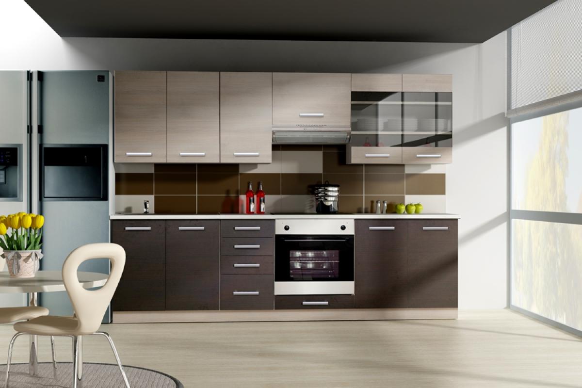 Nabytok-Bogart Kuchyňa amox - komplet 2,4 - komplet nábytku kuchennych