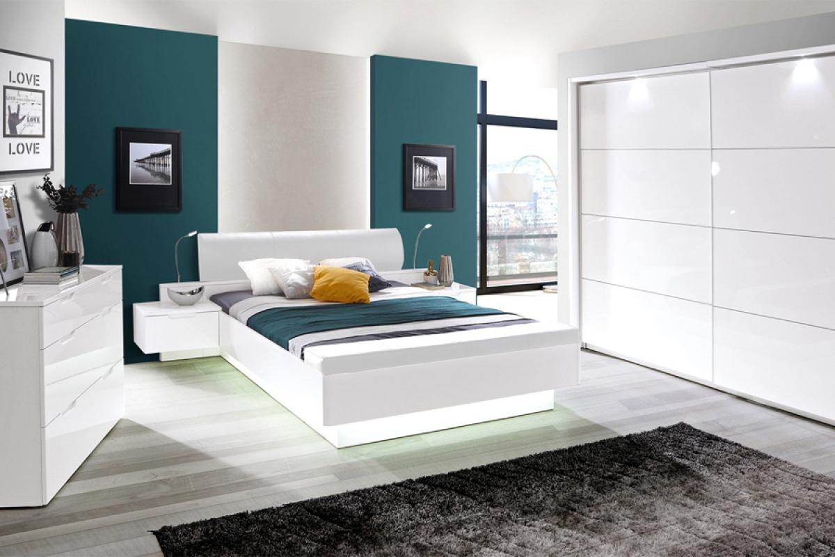 Nabytok-Bogart Komplet nábytku do spálne starlet white