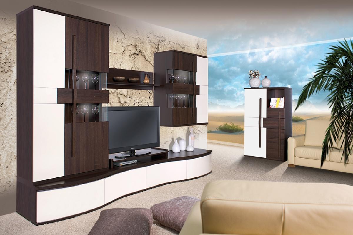 Nabytok-Bogart Komplet nábytku ii chanell čokoláda/ecru