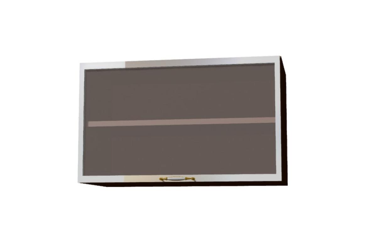 Nabytok-Bogart Amelia ws60 okgr hliníkový rám alu - závesná digestorová skrinka