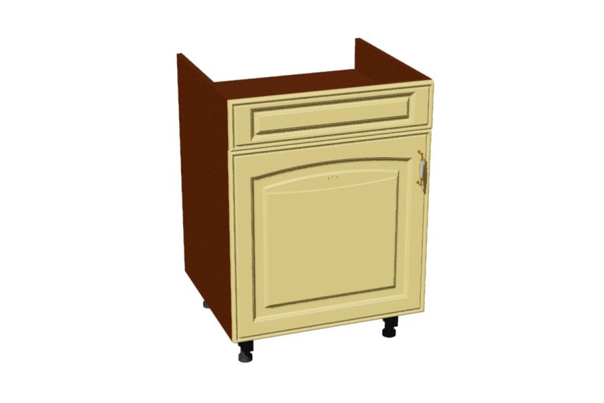 Nabytok-Bogart Amelia d60 pc záslepka p/l - skrinka pre vstavanú varnú dosku