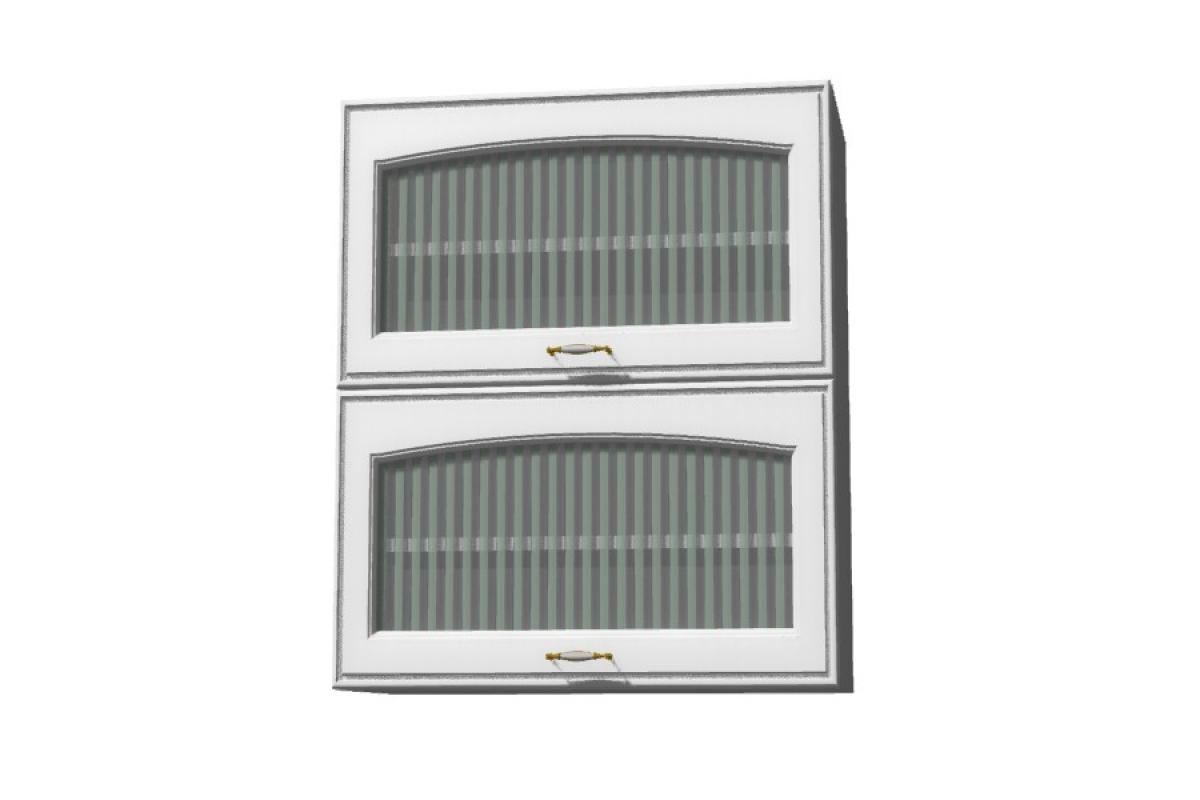 Nabytok-Bogart Amelia biela ws60 gr f/2 - závesná digestorová skrinka