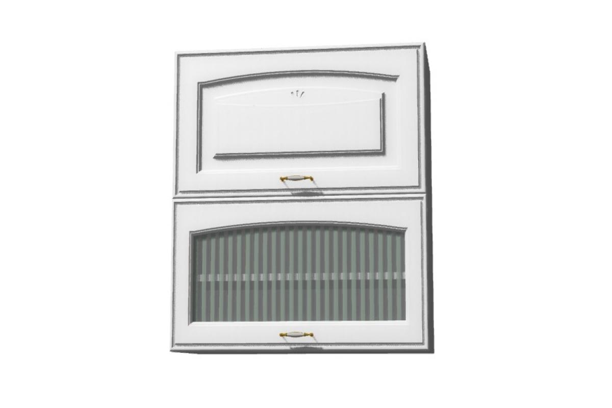 Nabytok-Bogart Amelia biela w60 gr f/2 sd - závesná digestorová skrinka