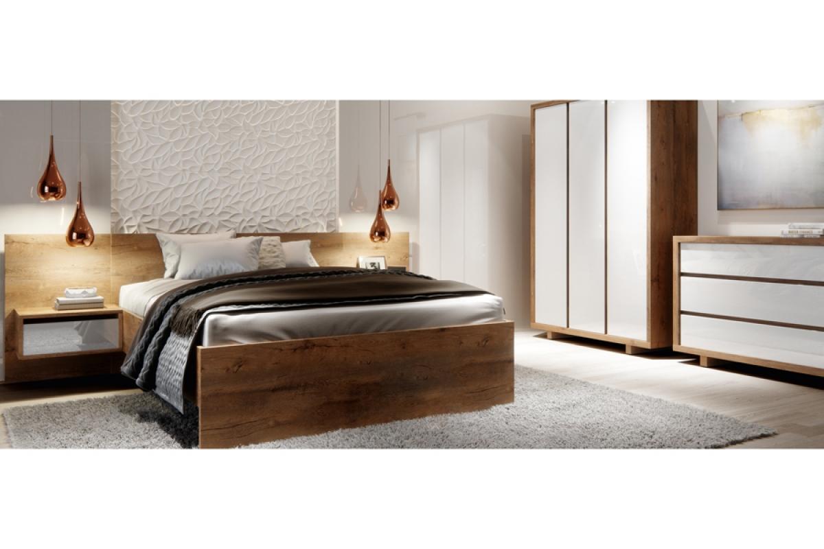Nabytok-Bogart Aspen - komplet nábytku do spálne