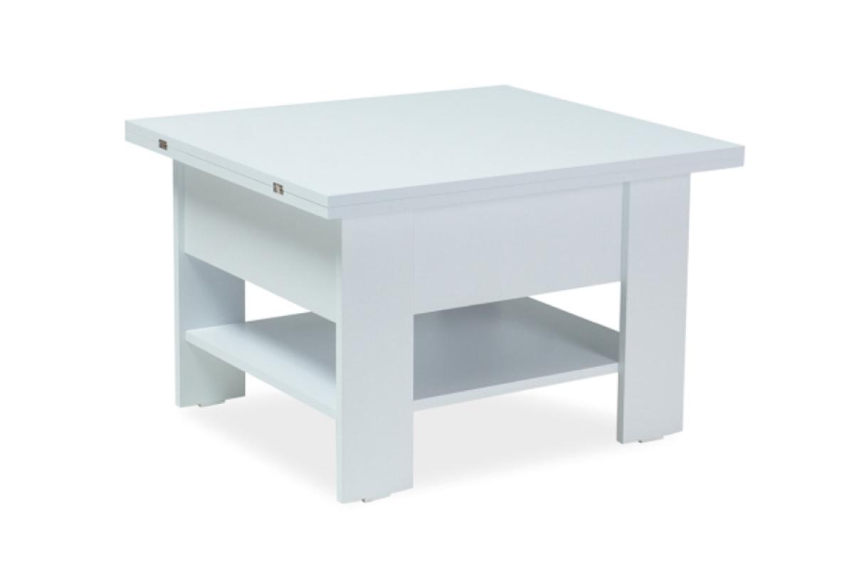 Nabytok-Bogart Rozkladací stôl/stolík matrix - biely