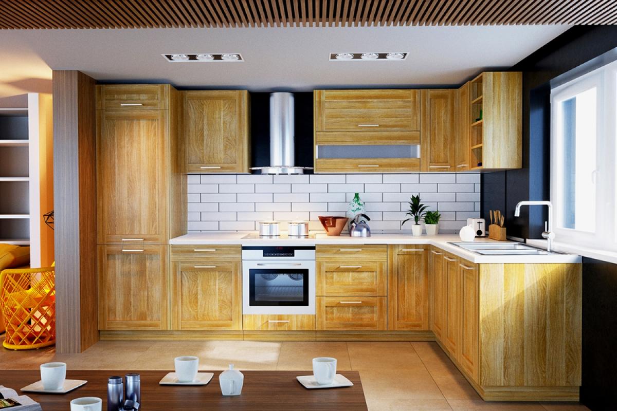 Nabytok-Bogart Kuchynská linka mohito l 330x170 - komplet nábytku do kuchyne
