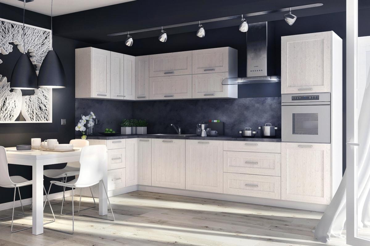 Nabytok-Bogart Kuchynská linka mohito l 350 x 130 - komplet nábytku do kuchyne