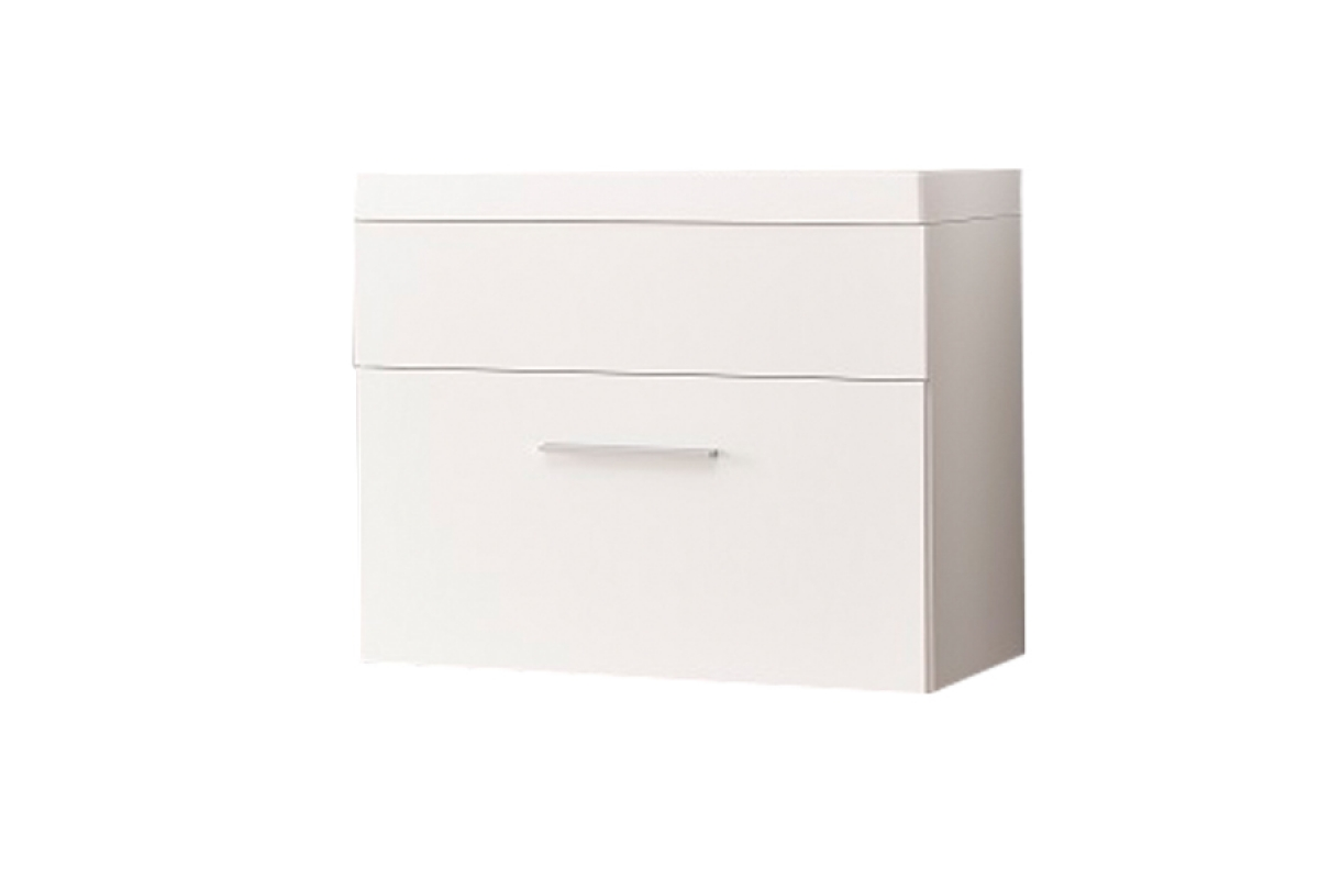 Nabytok-Bogart Skrinka pod umývadlo 60 cm polo/otto lp2 biela/biely laminát