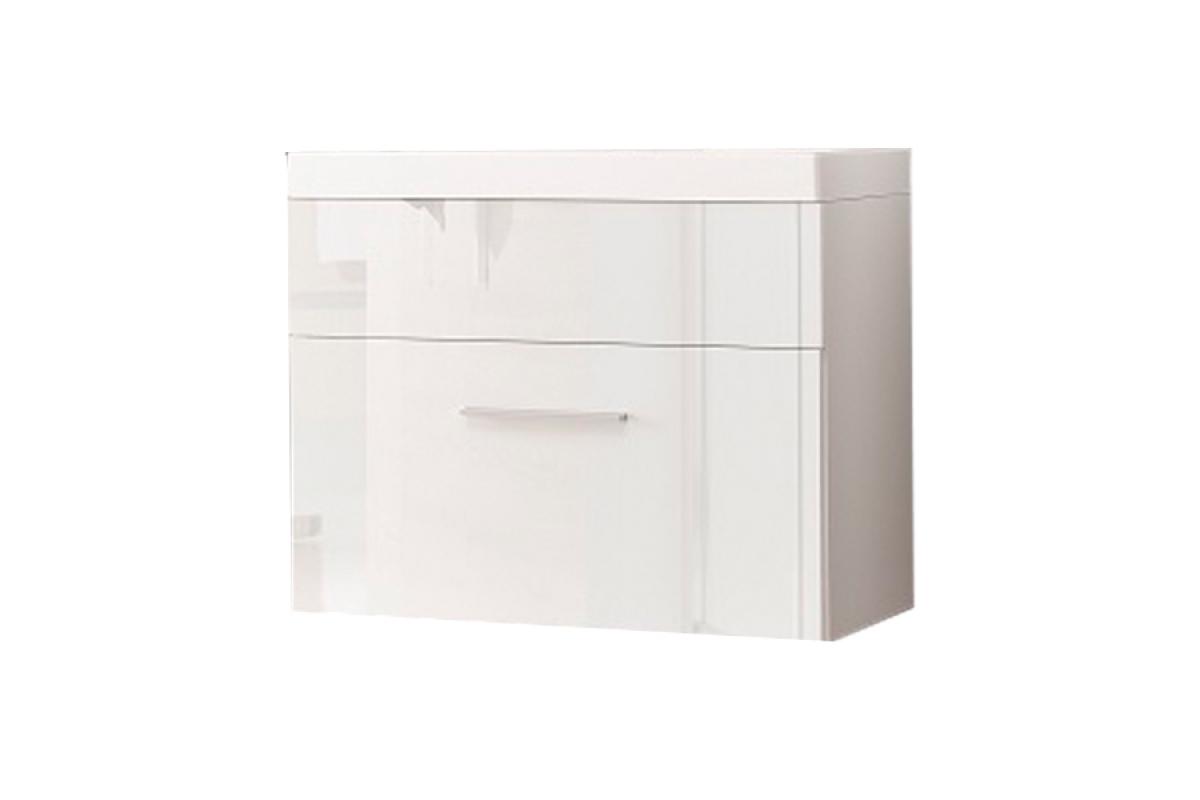 Nabytok-Bogart Skrinka pod umývadlo 60 cm polo/otto lp2 biela/biely lesk