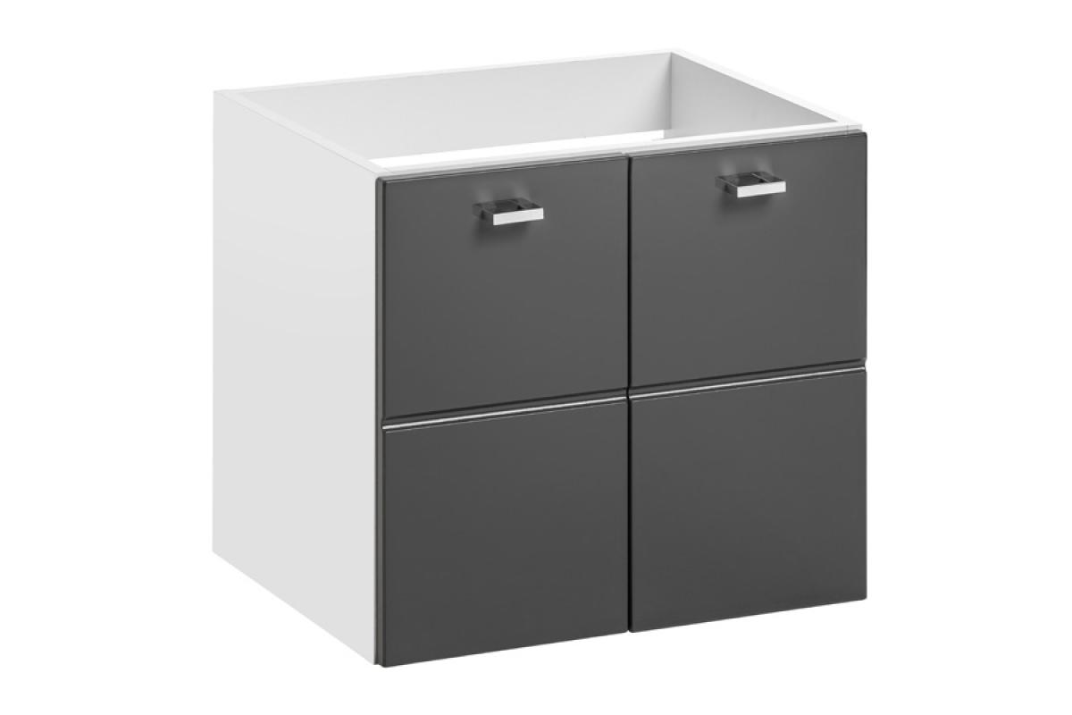 Nabytok-Bogart Skrinka pod umývadlo finka grey 823 - 50 cm