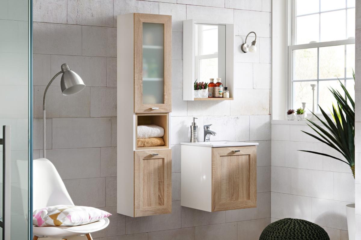 Nabytok-Bogart Kúpelňový nábytok finka sonoma - 40 cm