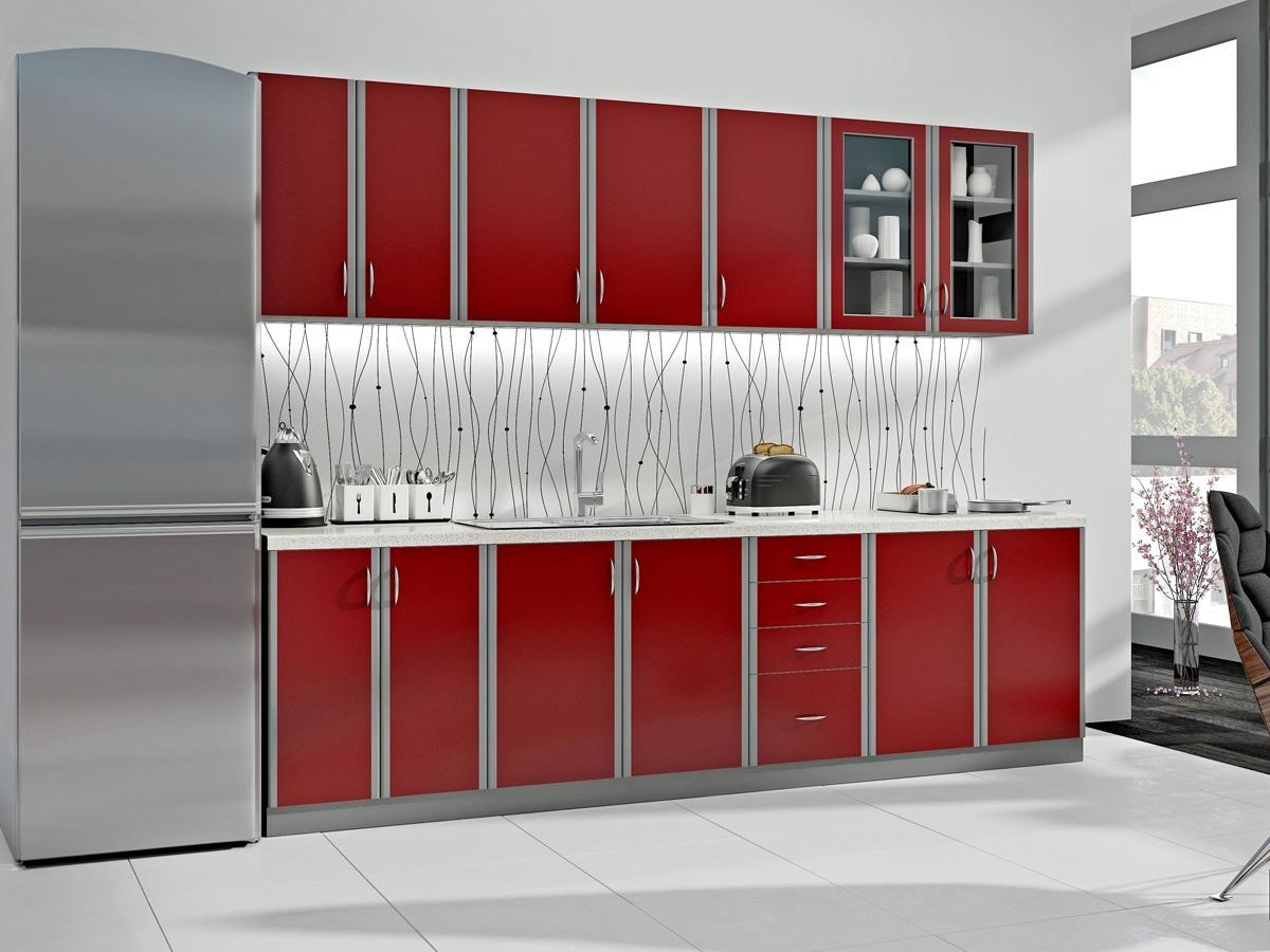 Nabytok-Bogart Kuchyňa elmira 2,6m - komplet nábytku kuchennych