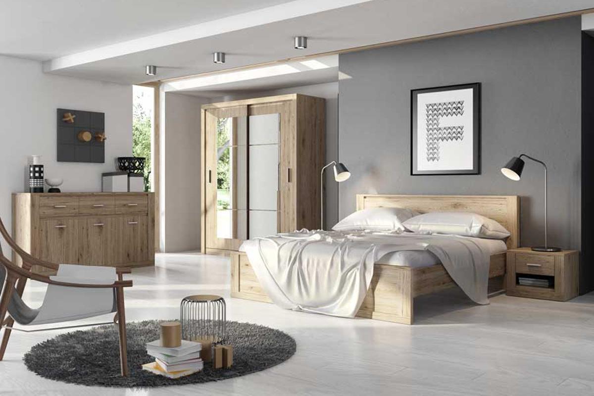 Nabytok-Bogart Komplet nábytku do spálne idea san remo