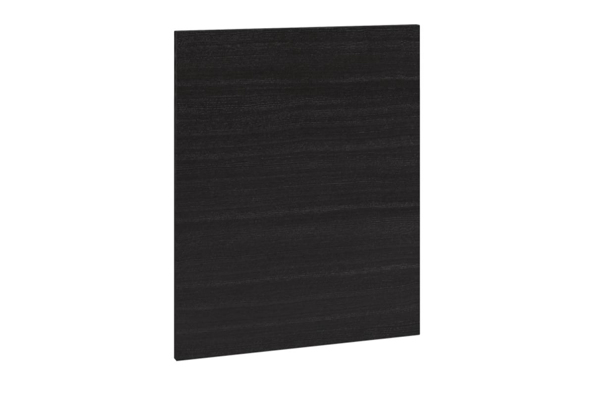 Nabytok-Bogart Moreno surf black 60pu - predná časť do umývačky - panel ukryty, biela