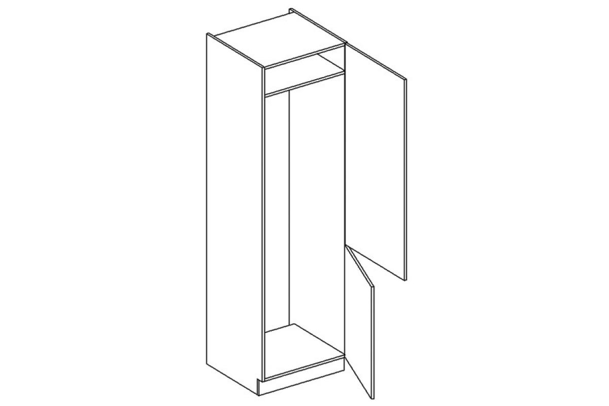 Nabytok-Bogart Nel d60 lo 2133/2333 - skrinka pre vstavanú chladničku
